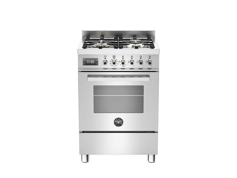 60 cm 4-burner electric oven | Bertazzoni - Stainless